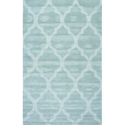 Alonza Hand-Tufted Wool Moss Area Rug Rug Size: Rectangle 5 x 8