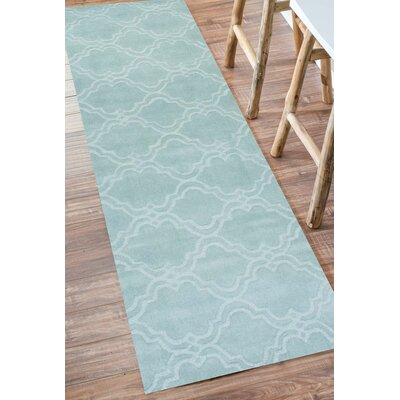 House of Hampton Stambruges Hand-Woven Moss Area Rug
