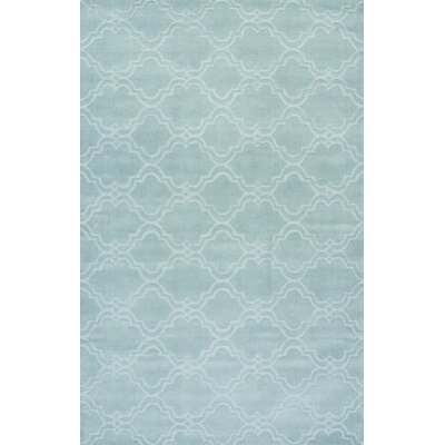 Stambruges Hand-Woven Moss Area Rug Rug Size: 4 x 6