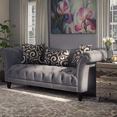 Willa Arlo Interiors WRLO8132 Hendrix Chesterfield Sofa