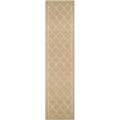 Gamboge Hand-Knotted Champagne Area Rug