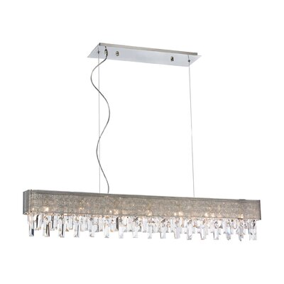 Avery 7 Light Crystal Chandelier