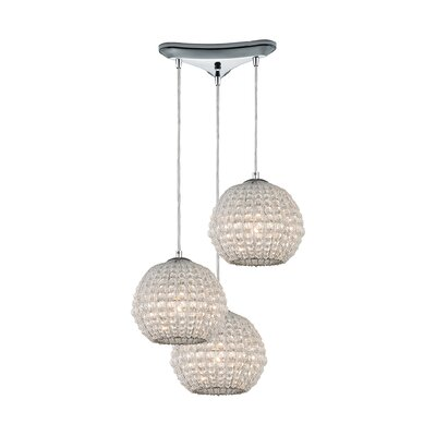 Vance 3-Light Globe Pendant