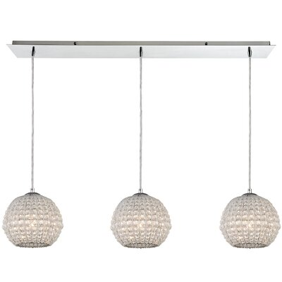 Tarcienne 3-Light Globe Pendant