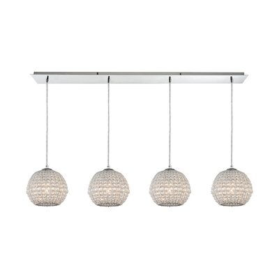 Fraipont 4-Light Globe Pendant