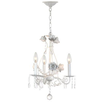Estinnes 3-Light Crystal Chandelier
