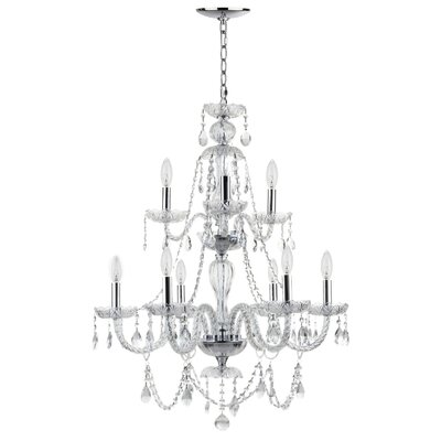 Berthier 8-Light Crystal Chandelier