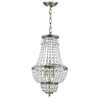 Rutland 4-Light Crystal Chandelier