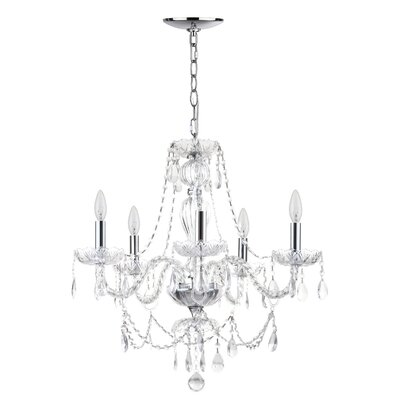 Raegan 5-Light Crystal Chandelier