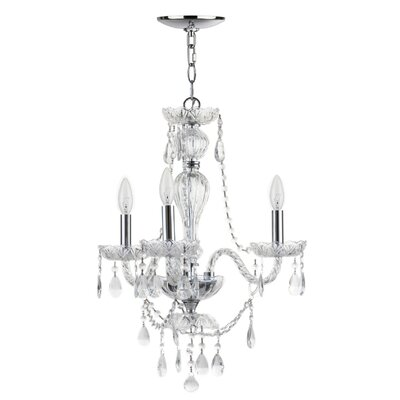 St Ives 3-Light Crystal Chandelier