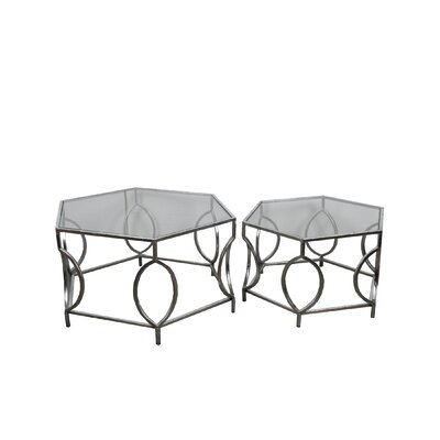 Mac 2 Piece End Table Set