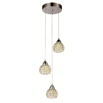Josephine 3-Light Kitchen Island Pendant