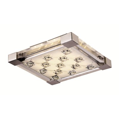 Cheevers 1-Light Flush Mount