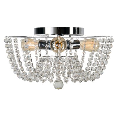 Getty 3-Light Flush Mount