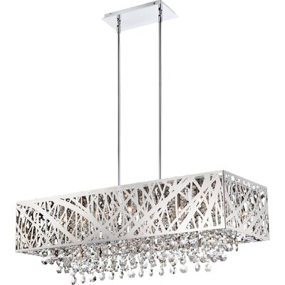 Devonne 10-Light Pendant Finish: Chrome