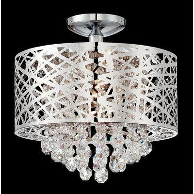 Devonne 4-Light Semi Flush Mount