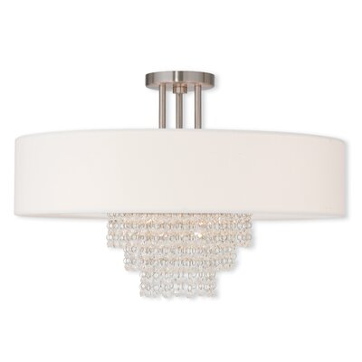Dor 5-Light Semi-Flush Mount
