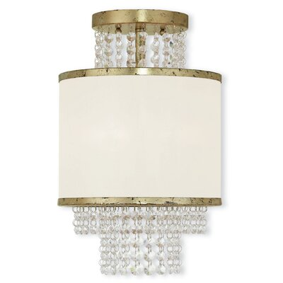 Mac 3-Light Semi-Flush Mount Finish: Gold