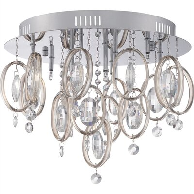 Richelle 9-Light Flush Mount