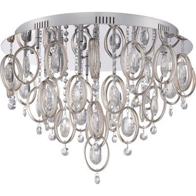 Richelle 18-Light Flush Mount
