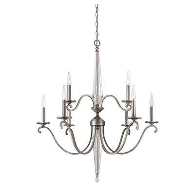 Arthur 9 Light Candle-Style Chandelier