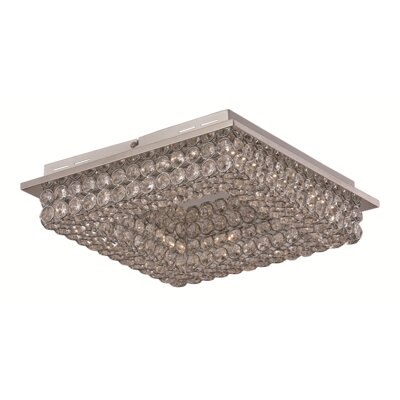 Apollo 4-Light Flush Mount