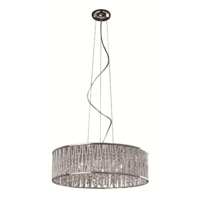 Trixie 8-Light Drum Pendant