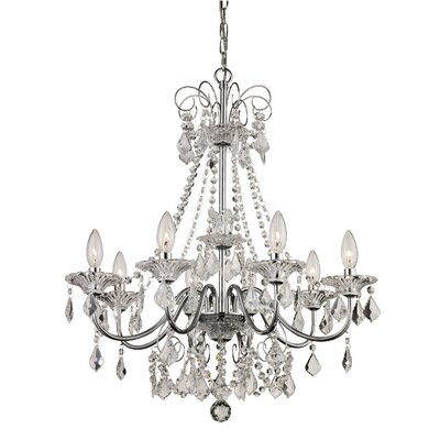 Jeter 8-Light Crystal Chandelier