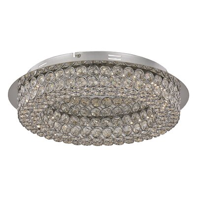 Apollo Flush Mount Size: 4 H x 13.75 W x 13.75 D