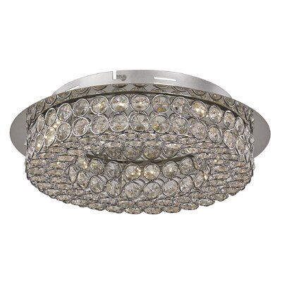 Apollo Flush Mount Size: 4 H x 15.75 W x 15.75 D