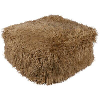 Wenham Pouf Ottoman Upholstery: Camel