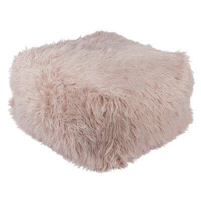 Wenham Pouf Ottoman Upholstery: Blush