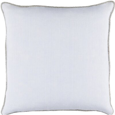 Sera Linen Throw Pillow Size: 18 H x 18 W x 4 D, Color: Blue