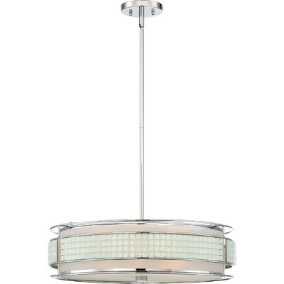 Roden 5-Light Drum Pendant