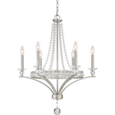 Scheinman 6-Light Candle-Style Chandelier