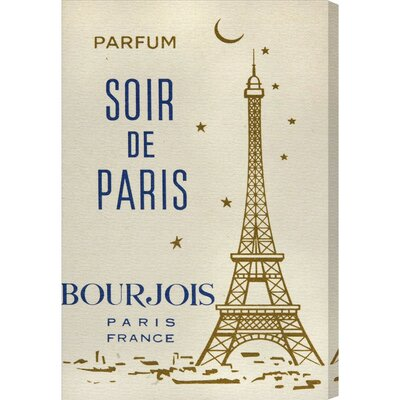 Parfum Soir de Paris Vintage Advertisement on Canvas HOHN9547 33228102
