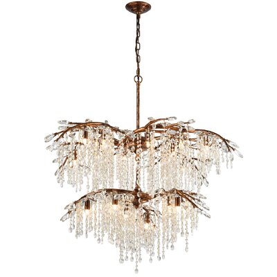 Elamin 18-Light Crystal Chandelier