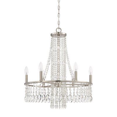 Eleanor 6-Light Crystal Chandelier
