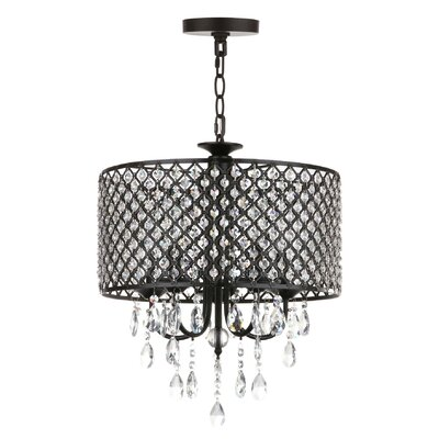 Eggert 4-Light Drum Chandelier