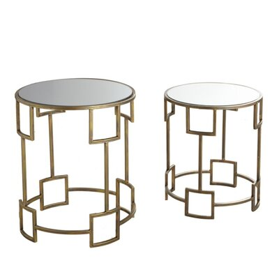 Claybrooks 2 Piece Nesting Tables