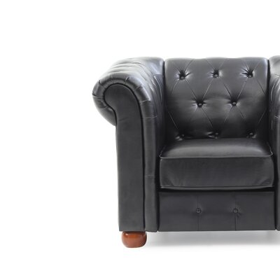 Katherina Armchair Color: Black