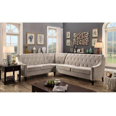 Buchanan Sectional Upholstery : Milky Beige
