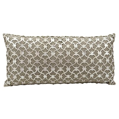 Fassbender Natural Leather Lumbar Pillow