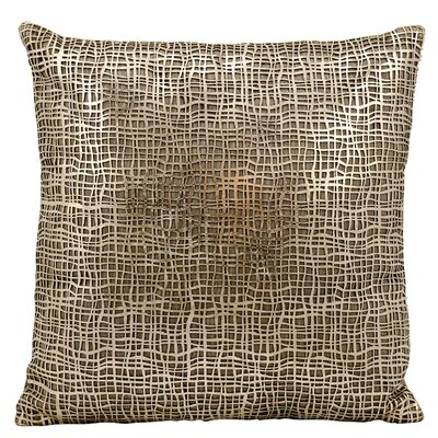 Dursley Throw Pillow Color: Gold