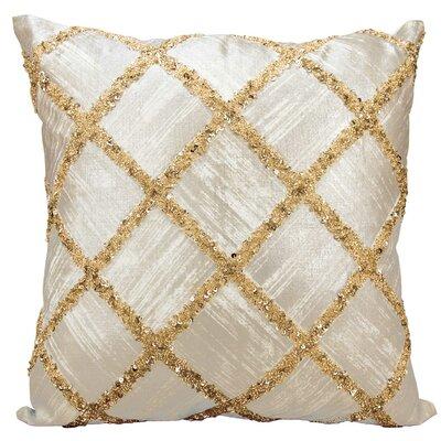 Faucett Cotton Throw Pillow Color: Gold