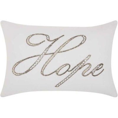 Burcet Hope Cotton Lumbar Pillow