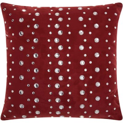 Fedor Faux Leather Throw Pillow