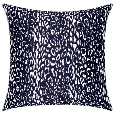 Eustachys Indoor/Outdoor Throw Pillow Color: Blue