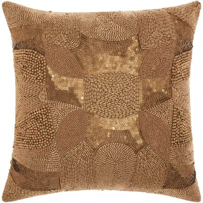 Sharonda Indoor Geometric Throw Pillow Color: Platinum