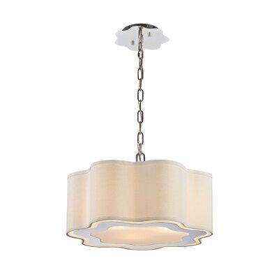 Langley 3-Light Drum Pendant Bulb Type: LED